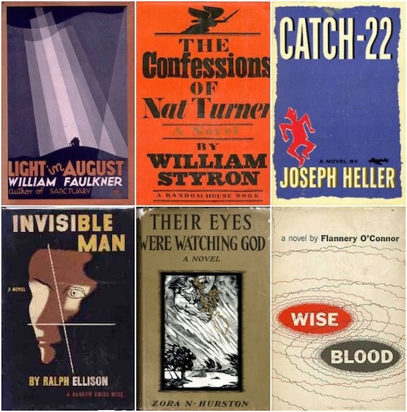 One Hundred Best American Novels, 1770 to 1985 (a Draft)