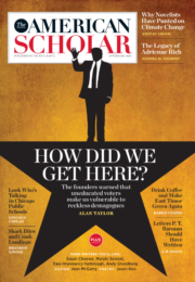The American Scholar Autumn 2016