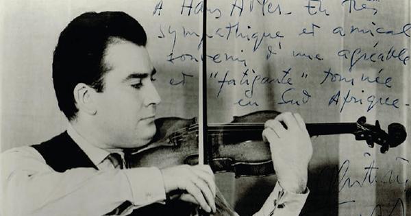 Christian Ferras in 1965  (Wikimedia Commons)