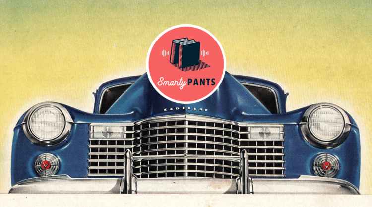 Detail of a vintage Cadillac ad (John Frost Newspapers/Alamy Stock Photo)